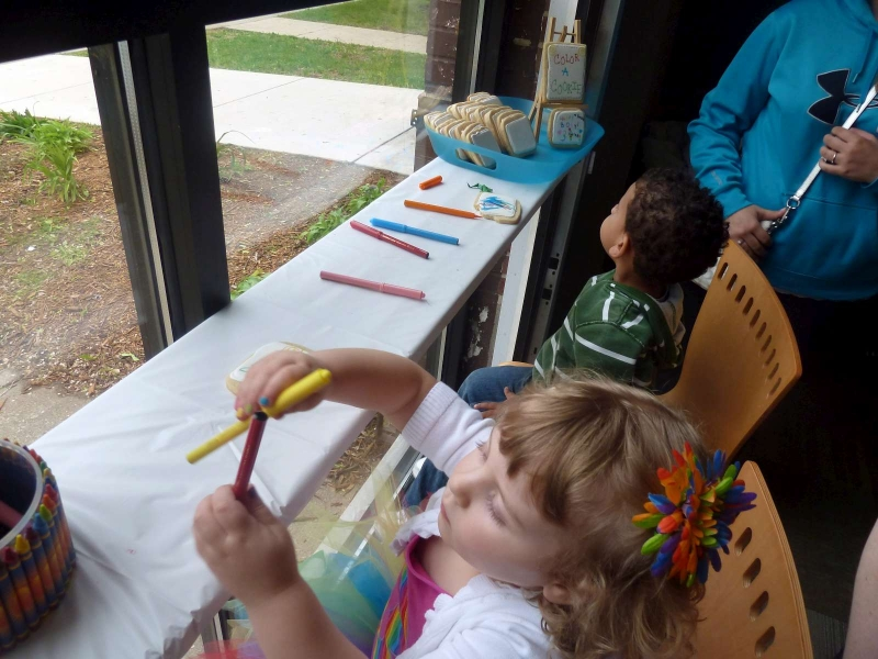 Coloring Cookie - Station
