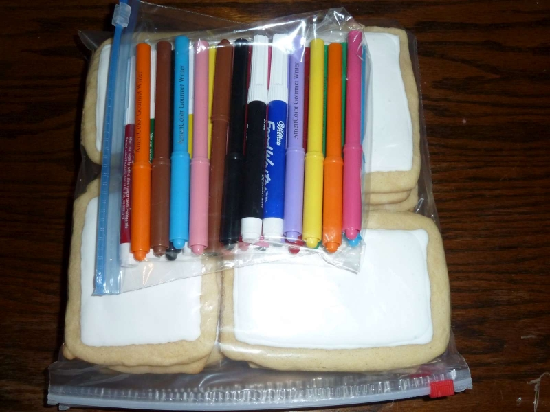Coloring Cookie - Packaged
