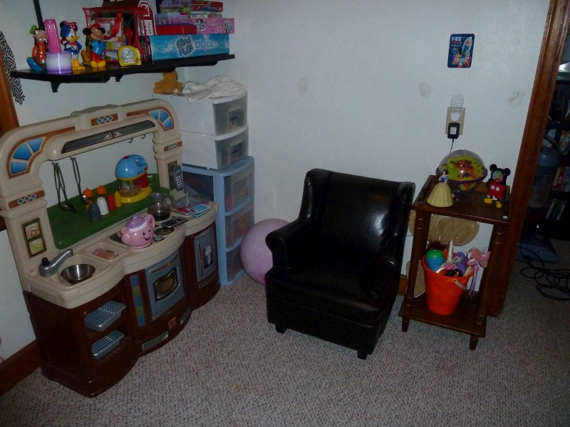 Organized Toy Room