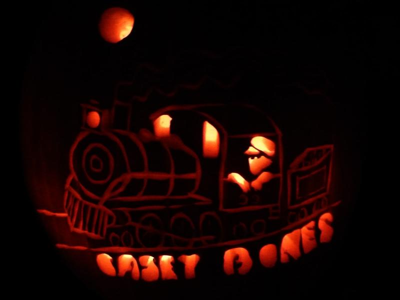 Train Pumpkin