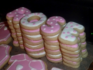 ROSE Name cookies