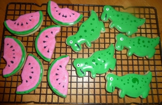 Watermelon and Dinosaurs