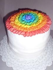 Rainbow cake Full View