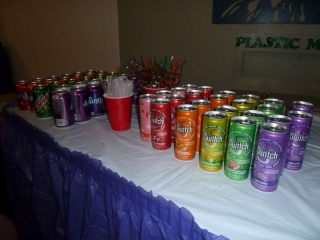 Rainbow Party Sparkling Soda