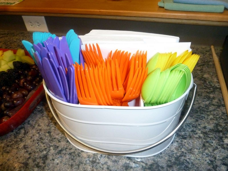Rainbow Party Silverware