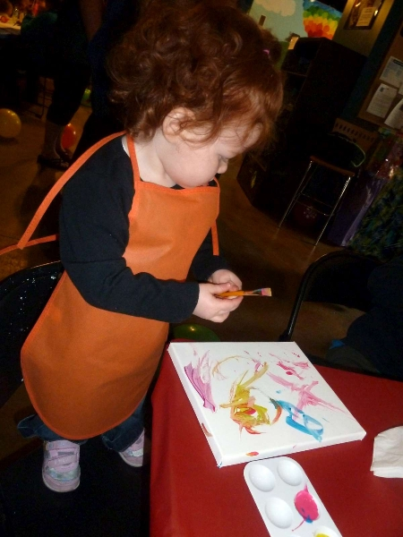 Rainbow Party M Painting