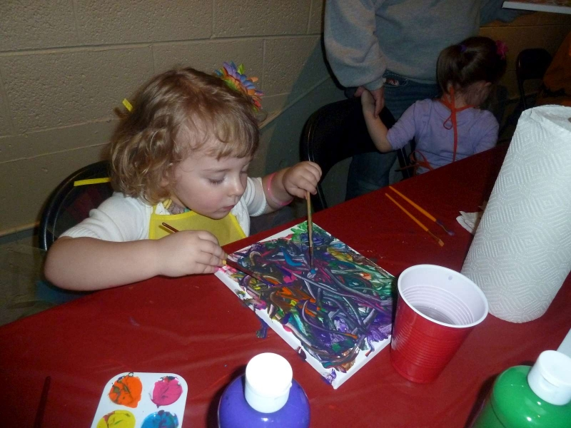 Rainbow Party A Still Painting