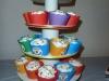 Rainbow Party Cupcake Tree 1