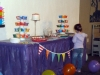 Rainbow Party Snack Table 2